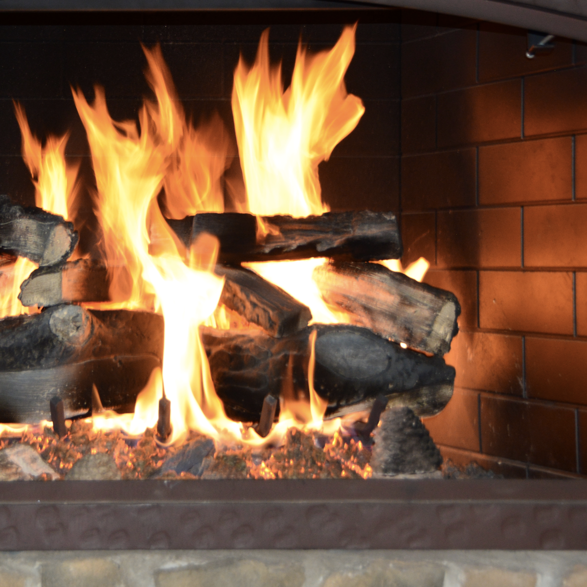 a virtual online fireplace